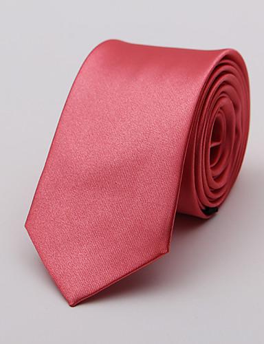זול עניבות ועניבות פרפר לגברים-עניבת צווארון - אחיד פריטים לצוואר בגדי ריקוד גברים