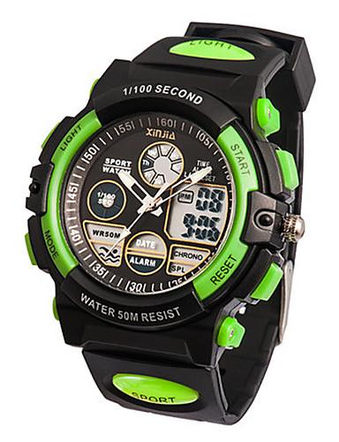 Pánské Sportovní hodinky Digitální Pryž Kapela Černá Zelená 6035654 2019 –   17.99 032aa3b99c