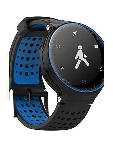 Homens Mulheres Relógio Esportivo Relógio Militar Relógio inteligente Digital Couro PU Acolchoado Preta / Azul / Vermelho 30 m Impermeável Tela de toque Exterior Digital Amuleto Luxo Rígida Fashion