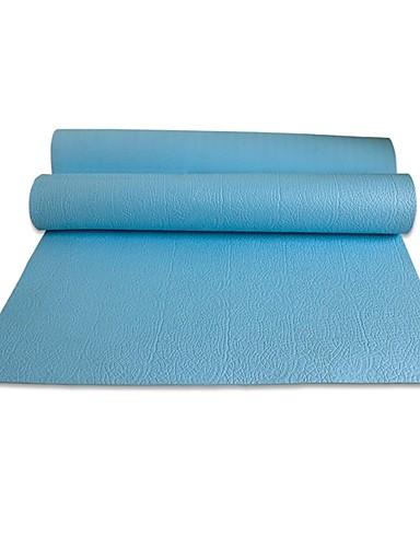 povoljno Vježbanje, fitness i joga-Joga Mats Non Slip TPE Za purpurna boja Zimzelen Vivid Pink