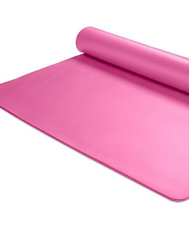 povoljno Vježbanje, fitness i joga-Joga Mats Non Slip NBR Za Ljubičasta Plava Pink