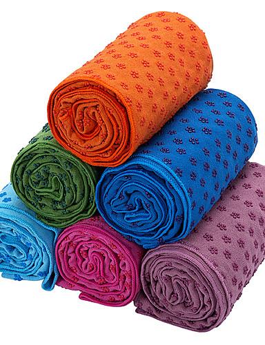 povoljno Vježbanje, fitness i joga-Fitness Mat Yoga Ručnici Sklopivo Anti-Τριβή Multifunkcionalni mikrovlakana najfiniji vlakana za Zelen Plava Pink