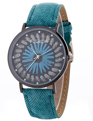 b92464543c08 Mujer Reloj Deportivo Reloj de Pulsera Cuarzo Creativo Reloj Casual Cool  Aleación Banda Analógico Encanto Lujo Casual Azul   Rojo   Verde - Rojo  Verde Azul ...