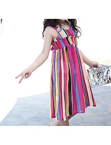 b0339f572bbd Κοριτσίστικα Λουλουδάτο   Κινούμενα σχέδια Μονόχρωμο Κοντομάνικο Φόρεμα  6045681 2019 –  12.96