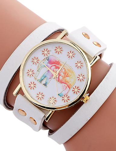 68049cd5f909 Mujer Reloj creativo único Reloj Pulsera Reloj de Moda Reloj Deportivo  Reloj Casual Cuarzo Piel Banda Encanto Lujo Creativo Casual 5994833 2019 –   10.99