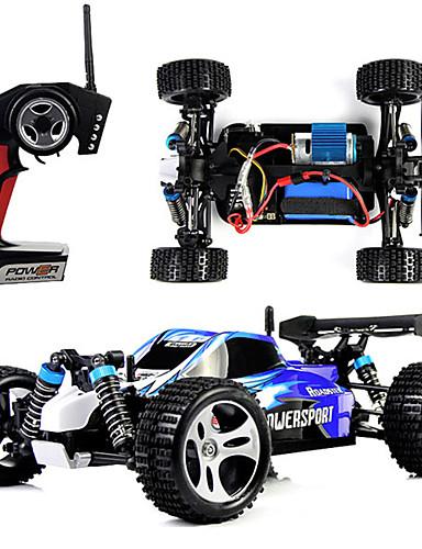 preiswerte Spielzeug & Hobby Artikel-RC Auto WLtoys A959 2.4G Buggy (stehend) / Off Road Auto / Treibwagen 1:18 Bürster Elektromotor 45 km/h Fernbedienungskontrolle / Wiederaufladbar / Elektrisch