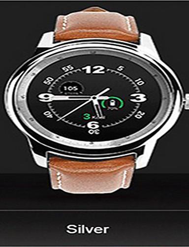 preiswerte Digitaluhren-Herrn Uhr Smartwatch Digital Leder Schwarz / Braun Analog-Digital Gold Schwarz Silber / Gray