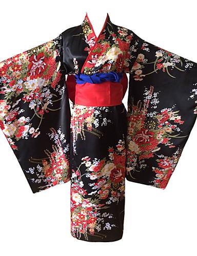 povoljno Anime cosplay dodaci-Cosplay Suits / Kimono / More Accessories Inspirirana Hell Girl Ai Enma Anime Cosplay Pribor Pojas / Kimono Dlaka Ostali materijal Žene novi / vruć Halloween kostime