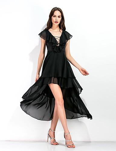 Vestidos de noche corte v