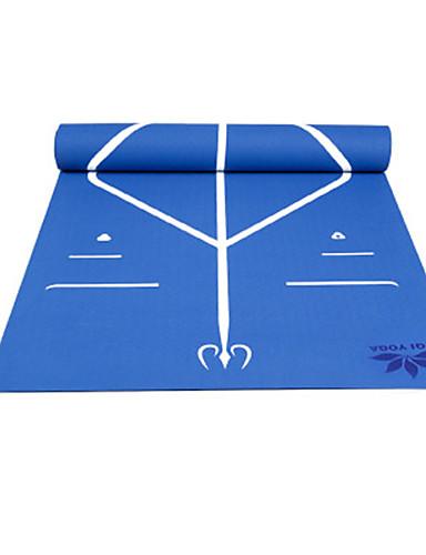 povoljno Vježbanje, fitness i joga-Fitness Mat Non Slip TPE Za purpurna boja Tamno plava Pale Pink