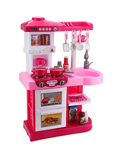 cheap Kids' Dress Up & Pretend Play-Toy Kitchen Set Toy Food / Play Food Kids' Cooking Appliance Simulation Plastics Kid's Toy Gift