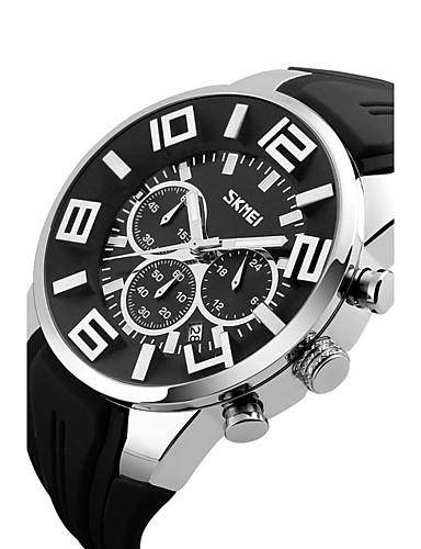 Pánské Sportovní hodinky Inteligentní hodinky Náramkové hodinky Digitální  Silikon Vícebarevný 30 m Voděodolné Kalendář kreativita Analogové Přívěšky  Módní ... dc3fc4c279