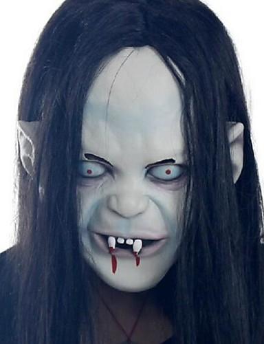 povoljno Maske i kostimi-Mask Rekviziti za Noć vještica Maska za Noć vještica Inspirirana Zombi Cosplay Stravičan film Crn Halloween Karneval Muškarci Žene