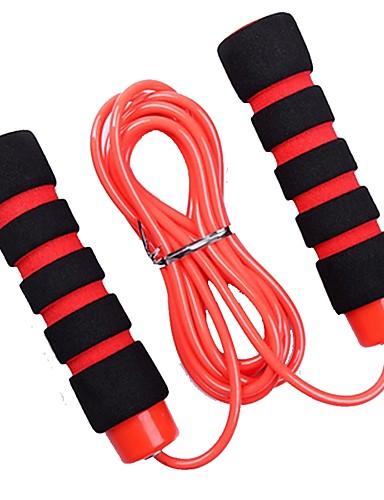 povoljno Vježbanje, fitness i joga-Jump Rope / Preskakanje užeta Plastika Prijenosno Brzina protiv klizanja Izdržljivost Crossfit Gubitak težine Trening Boks Sposobnost Gymnatics Za Uniseks Sport na otvorenom Unutrašnji