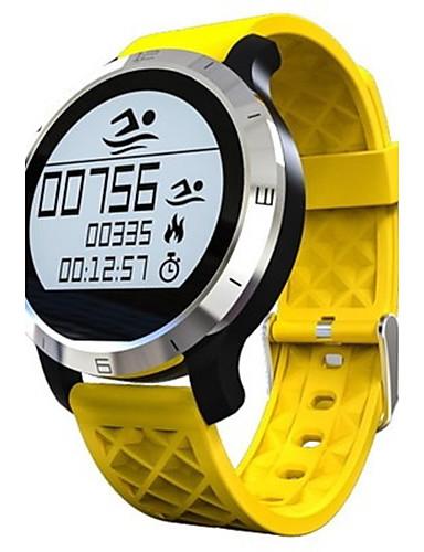 preiswerte Digitaluhren-Herrn Smart Uhr Modeuhr digital Silikon Band Schwarz Grau Gelb