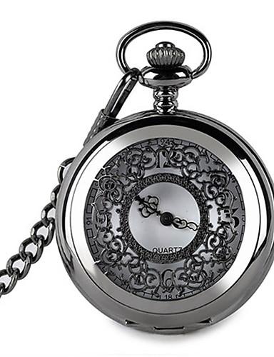 Pánské Dámské Kapesní hodinky Křemenný Slitina Kapela Vintage Černá 6174751  2019 –  17.99 7adfaaf43e