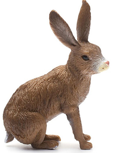 cheap Kids' Action & Toy Figures-Animals Action Figure Educational Toy Animals Simulation Rabbit Dinosaur Insect Silicon Rubber Classic & Timeless Kid's Teen Boys' Toy Gift
