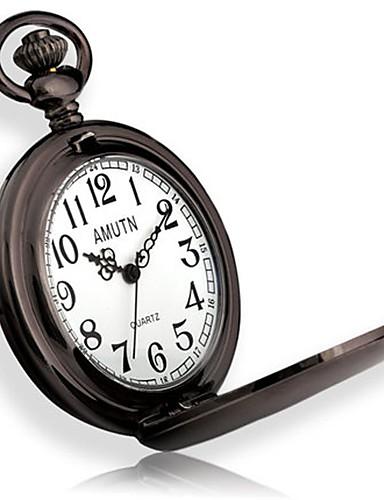 Pánské Kapesní hodinky Křemenný Slitina Kapela Černá Stříbro Zlatá 6140153  2019 –  12.99 4fc36db0b0