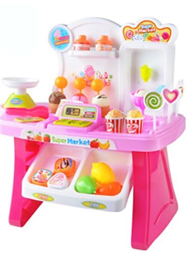 cheap Kids' Dress Up & Pretend Play-Toy Car Grocery Shopping Pretend Play Music Ice Cream Plastics Kid's Girls' Toy Gift