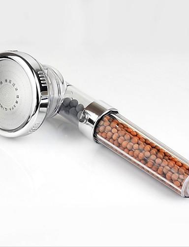 cheap white season-3 Mode Ion Filtered Negative SPA High Pressure Rainfall Delta Spray Handheld Adjustable Shower Head