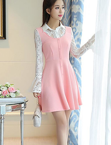 81f010766756 Women s Going out Daily Simple A Line Loose Dress 6211852 2019 –  14.99