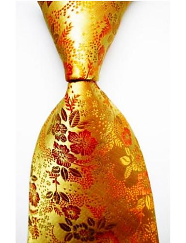 זול עניבות ועניבות פרפר לגברים-עניבת צווארון - פסים פסים בגדי ריקוד גברים