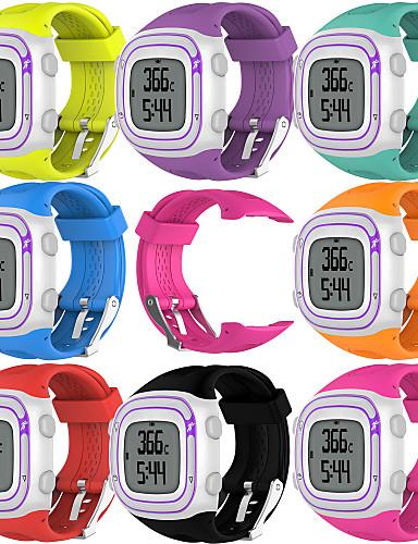 Klokkerem til Forerunner 10 Garmin Sportsrem Gummi Håndleddsrem