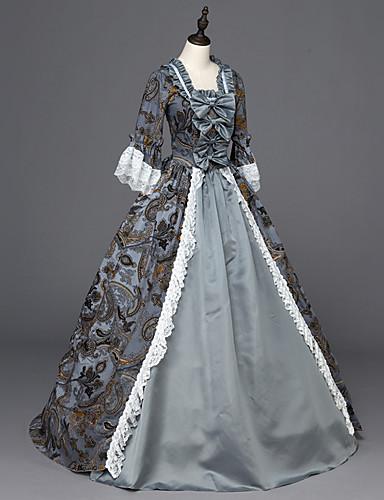 Rococo Lace Up Victorian 18th Century Costume Punk Lolita Dress ...