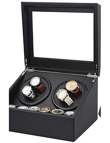 preiswerte Uhren Zubehör-Uhren Etuis Reperatuwerkzeug & Sets Uhrenaufzug Etuis Leder Uhren Zubehör 30.5*24.5*17.5 2.0