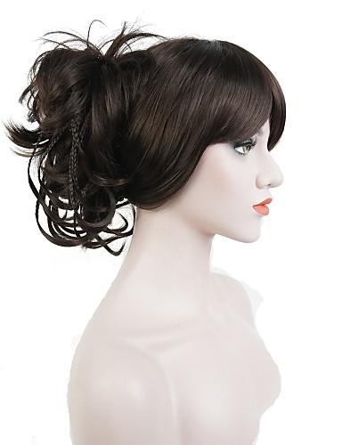 preiswerte Pflege & Haar-Pferdeschwanz / Haarteil Synthetische Haare Haarstück Haar-Verlängerung Glatt / Klassisch Alltag / Gerade