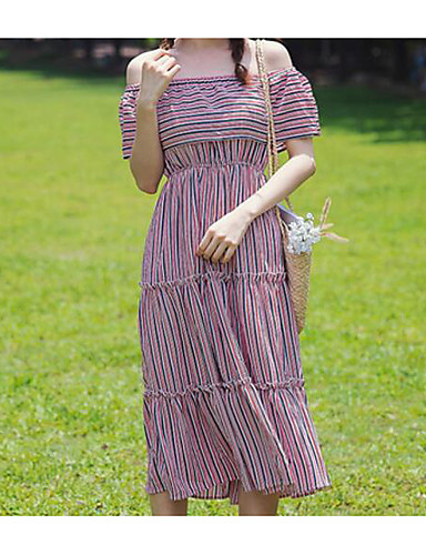 f8848a03040 Women s Daily Going out Cute Casual Shift Dress