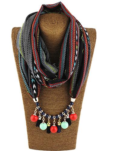 preiswerte Farbiger Chiffonschal-Damen Chiffon Infinity-Schal - Druck Tribal