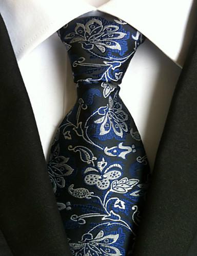 Homens Trabalho / Básico Gravata Jacquard