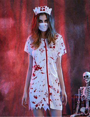 povoljno Maske i kostimi-Bloody Mary Cosplay Nošnje Halloween Festival / Praznik Polyster Karneval kostime Moda
