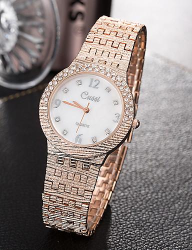 413c494d6ba8 Mujer Reloj creativo único Reloj de Pulsera Reloj de Moda Reloj Casual  Cuarzo Aleación Banda Encanto Lujo Creativo Casual Elegant Cool 6193936  2019 –  11.99