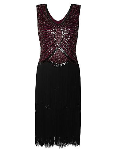 75988fa3b3d [$59.99] Ίσια Γραμμή Με Κόσμημα Μέχρι το γόνατο Τούλι Βελούδο Κοκτέιλ Πάρτι  Φόρεμα με ...
