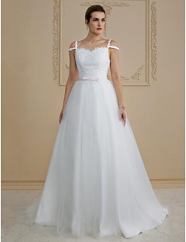 Vestidos de novia con lazo en la espalda