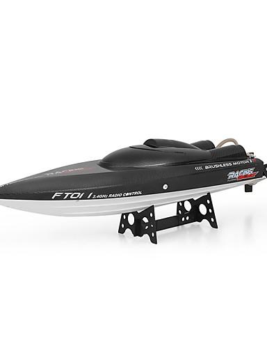 preiswerte Spielzeug & Hobby Artikel-RC Boot FT011 Schnellboot Kunststoff / ABS 4 pcs Kanäle 55 km/h KM / H