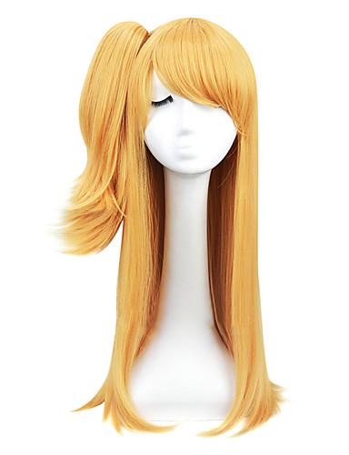 voordelige Cosplay Pruiken-Fairy Tail Lucy Heartfilia Cosplaypruiken Dames 24 inch(es) Hittebestendige vezel Blond Anime