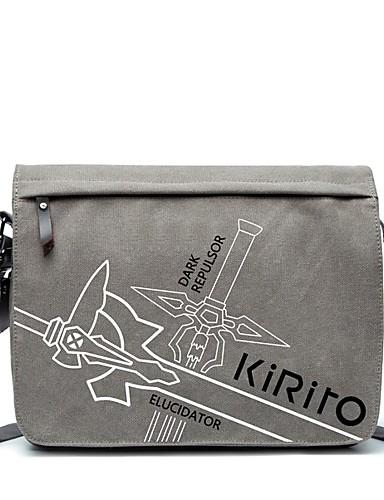 povoljno Anime cosplay-Bag Inspirirana SAO Swords Art Online Kirito Anime Cosplay Pribor Platno Noć vještica