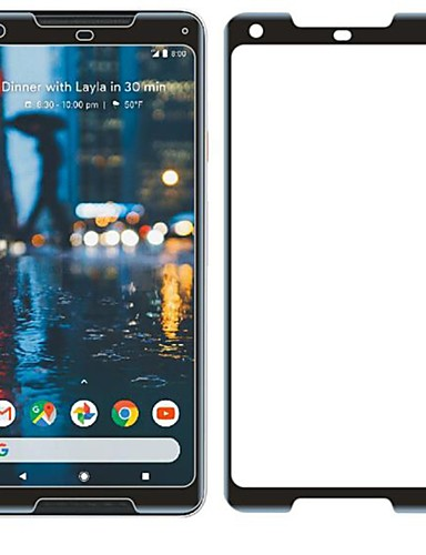 GoogleScreen ProtectorPixel 2 XL Dureza 9H Protetor de Tela Frontal 1 Pça. Vidro Temperado