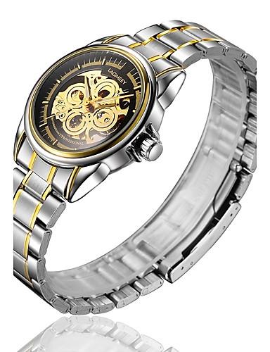 Ανδρικά Μοδάτο Ρολόι / μηχανικό ρολόι Αυτόματο κούρδισμα κράμα Μπάντα