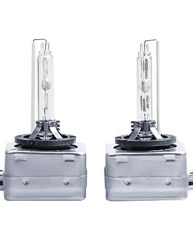billige Bestselgende kjøretøyprodukter-otolampara 2 stk ekte hvit 35w 6000k d1s skjult xenonlampe
