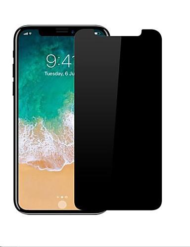 Προστατευτικό οθόνης για Apple iPhone X Σκληρυμένο Γυαλί 1 τμχ Επίπεδο σκληρότητας 9H / Κυρτό άκρο 2,5D / Προστασία από Γρατζουνιές