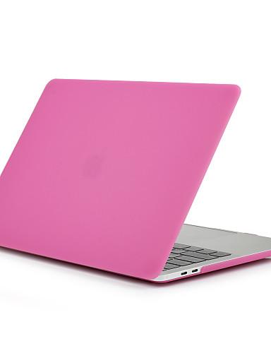 MacBook Θήκη Παγωμένη Μονόχρωμο Πολυανθρακικό για Νέο MacBook Pro 15'' / Νέο MacBook Pro 13'' / MacBook Pro 15 ιντσών