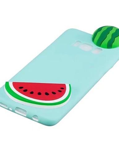 tok Για Samsung Galaxy S8 Plus / S8 / S7 edge Με σχέδια / Φτιάξτο Μόνος Σου Πίσω Κάλυμμα Κινούμενα σχέδια 3D / Φρούτα Μαλακή TPU