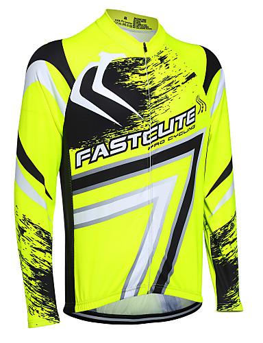 povoljno Biciklističke majice-Fastcute Muškarci Žene Dugih rukava Biciklistička majica Veći konfekcijski brojevi Bicikl Sportska majica Biciklistička majica Majice Brdski biciklizam biciklom na cesti Prozračnost Quick dry