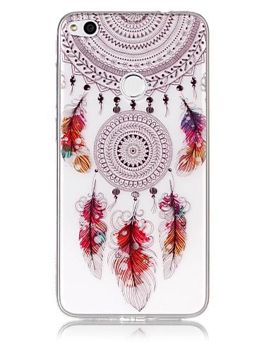 tok Για Huawei P9 Lite / Huawei / Huawei P8 Lite P10 Lite / Huawei P9 Lite / P8 Lite (2017) Εξαιρετικά λεπτή / Διαφανής / Ανάγλυφη Πίσω Κάλυμμα Ονειροπαγίδα Μαλακή TPU
