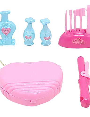 preiswerte Spielhaushaltsgeräte-Tue so als ob du spielst Spiel Schmuckset Klassisch Herz Prinzessin Weicher Kunststoff Mädchen Spielzeuge Geschenk 1 pcs