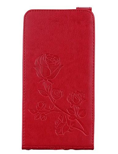 tok Για Samsung Galaxy J7 (2016) / J7 / J5 (2016) Πορτοφόλι / Θήκη καρτών / με βάση στήριξης Πλήρης Θήκη Λουλούδι Σκληρή PU δέρμα